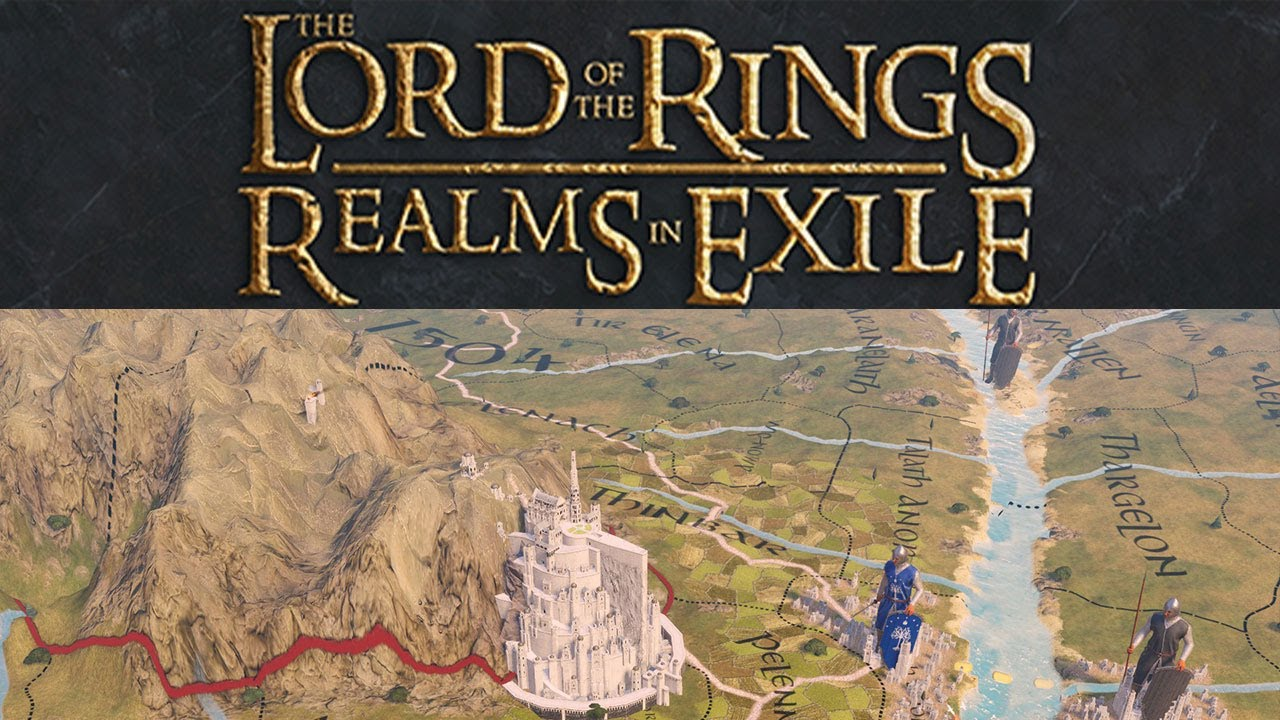 Lord of the Rings: Realms in Exile - Imperator: Rome Total Overhaul Mod  Gameplay 0 1