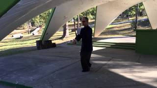 Second section of Yang style Tai Chi Chuan Sifu James Wing Woo method