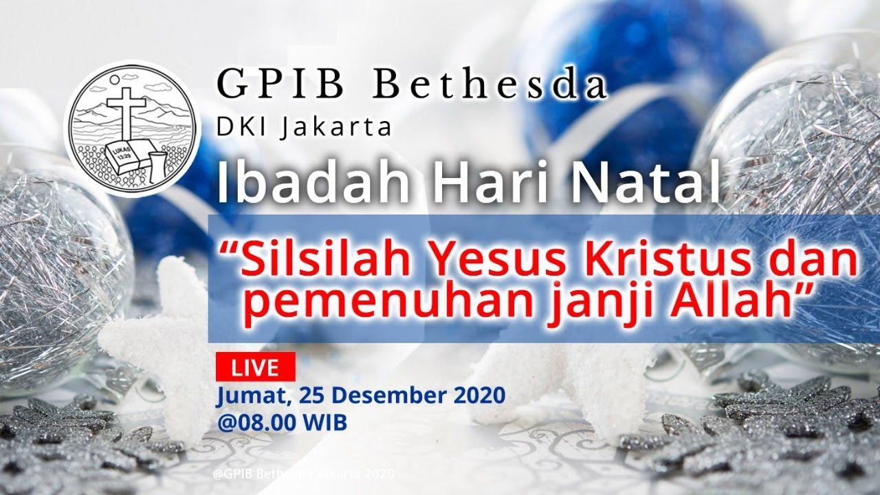 Ibadah Hari Natal (25 Desember 2020)