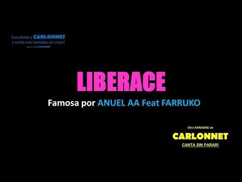 Liberace - Farruko feat Anuel AA (Karaoke)