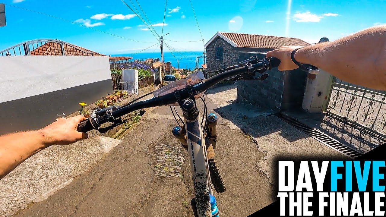 THE FINAL DAY RACING THE MOST INSANE ENDURO TRAILS!! TRANS MADEIRA DAY 05