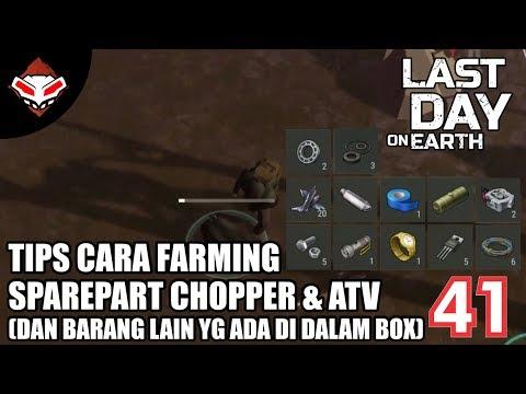 Last Day on Earth - (41) Tips Cara Farming Sparepart Chopper & ATV