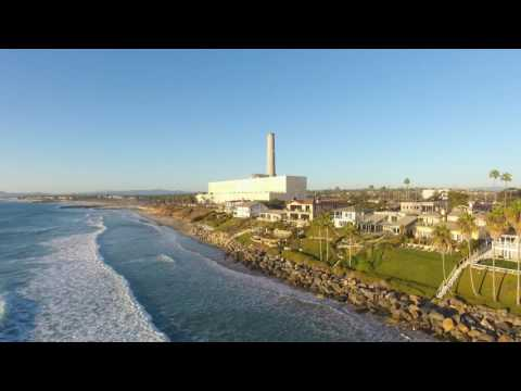 "San Diego Oceanfront Homes ""Drone Video"" of Carlsbad CA"
