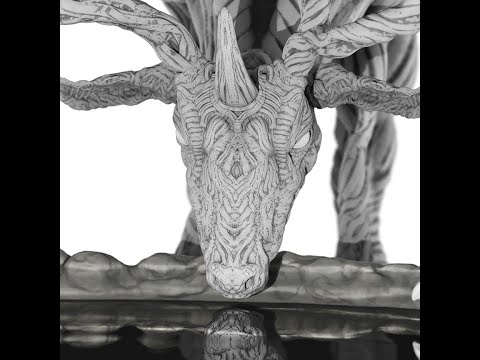Deer - Sculpting Process