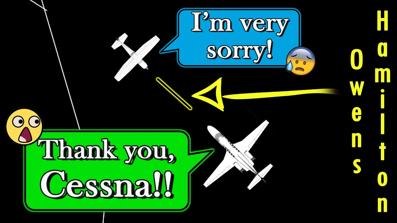 Citation and Skyhawk LANDING ON OPPOSITE RUNWAYS | Uncontrolled Airfield