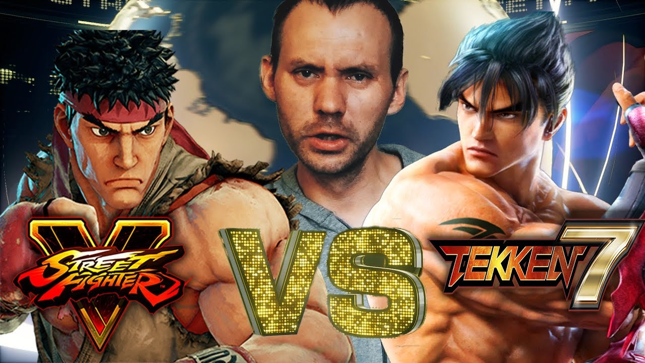 Tekken 7 VS Street Fighter V - Сравнил