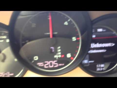 Porsche Panamera Diesel Top Speed 262 km/sa