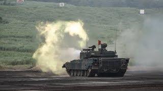 «Армия-2017»: танковый биатлон, шоу «Вежливые люди» и оружие будущего