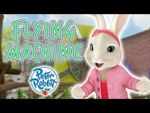 Peter Rabbit - Flying machine | Cartoons for Kids
