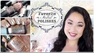 Favorite Neutral Nail Polishes! | Best Work Appropriate Colors (Roy G Biv Series)
