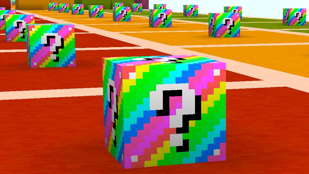 скачать радужные лаки блоки на майнкрафт 1.8