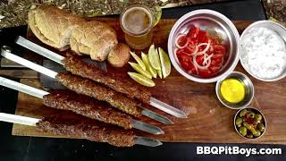 All Meat Shish Kebabs by the BBQ Pit Boys