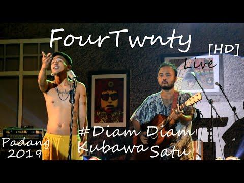 FourTwnty [HD] Di Padang - Diam Diam Kubawa Satu Live At AUTHENTICITY2019.
