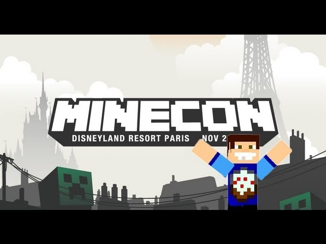 pabbie en Minecon 2012 - Disneyland, Paris. Videos De Viajes