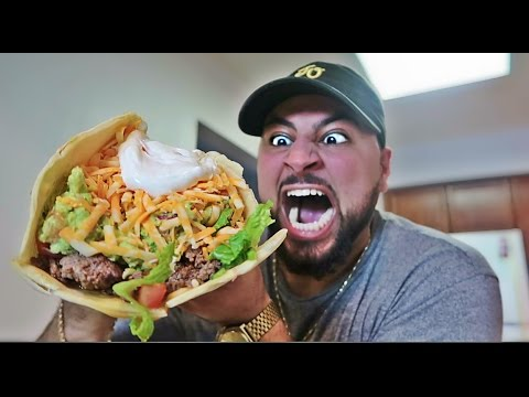 DIY GIANT TACO!! (WORLD RECORD)