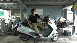 フォーサイト参考動画:10万キロ走れるように作られたスクーター