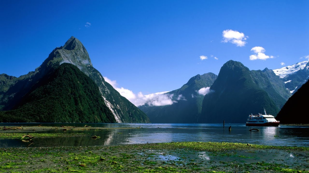 Victoria Falls Hd Wallpaper Milford Sound New Zealand Youtube