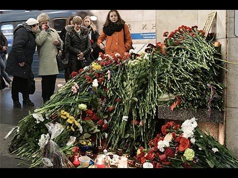 Санкт-Петербург. Акция памяти жертв трагедии в метро. Прямая трансляция
