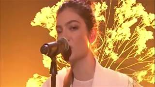 "Lorde ""Perfect Places"" Live On The Tonight Show With Jimmy Fallon"