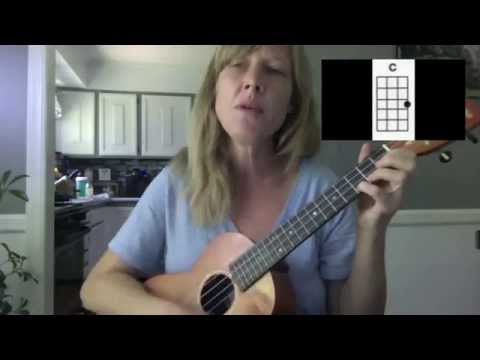 Stay Rhianna Ukulele chords Tutorial Playalong