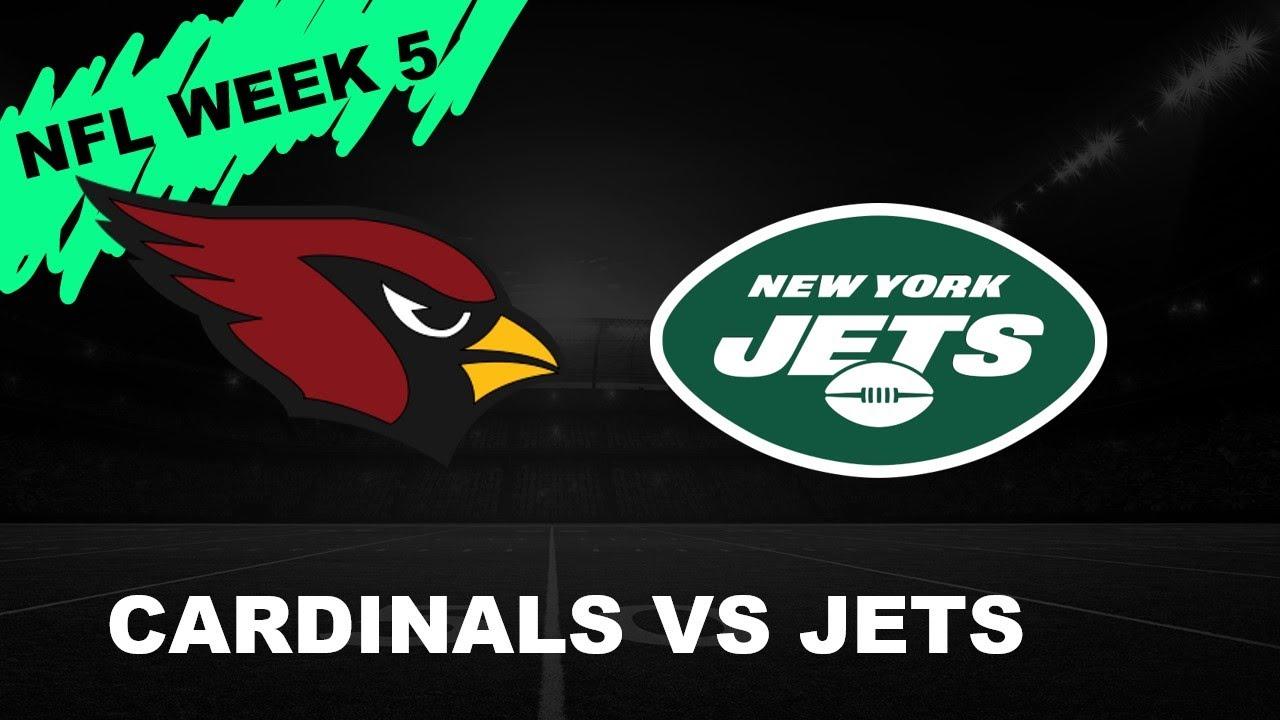 Arizona Cardinals vs New York Jets - YouTube