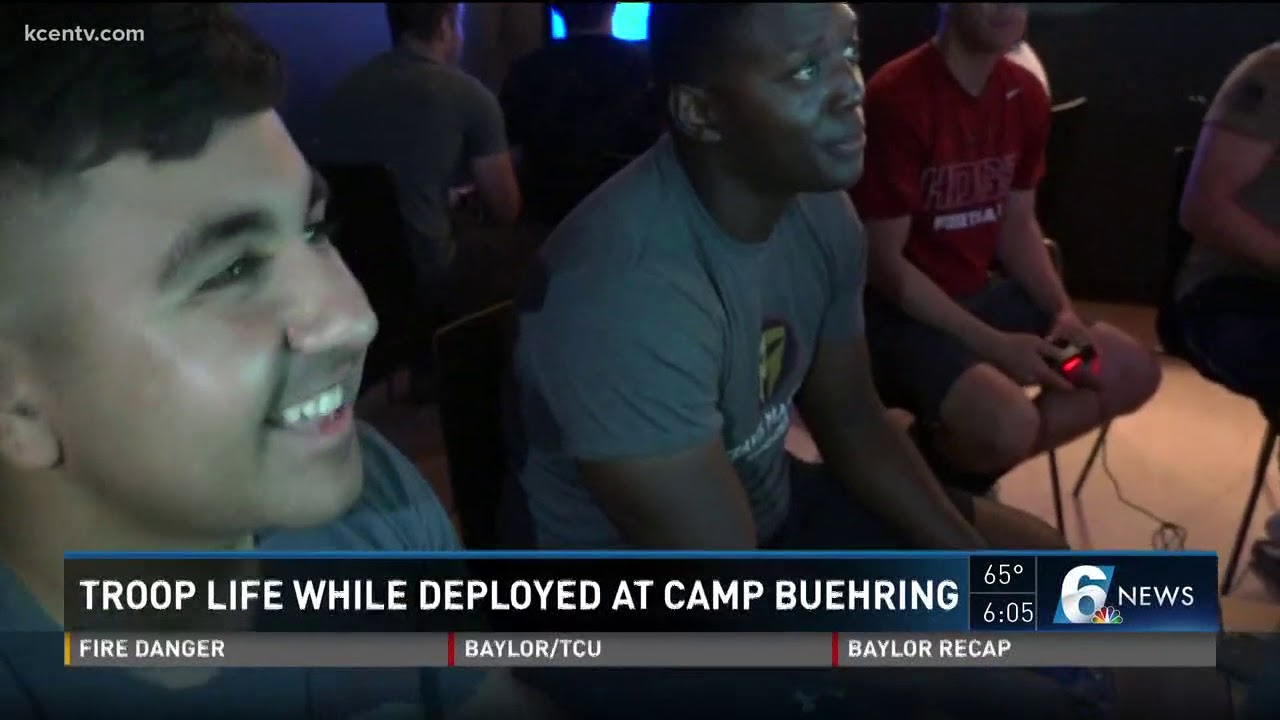 Troop life while deployed at Camp Buehring