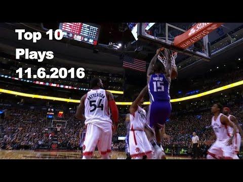 Top 10 NBA Plays: November 6th