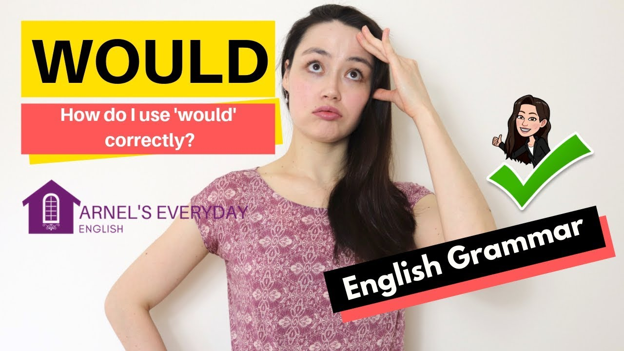 Download WOULD - English Grammar - How do I use 'would' correctly?