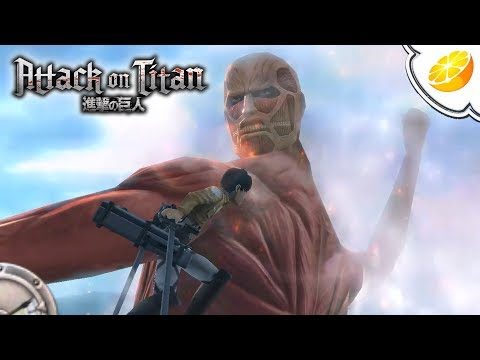 Attack on Titan: Humanity in Chains - Citra Emulator Canary 423 (GPU Shaders) [1080p] - Nintendo 3DS - 동영상