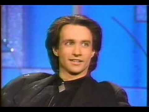 Bronson Pinchot on Arsenio Hall  11190 pt. 1