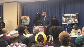 WE'RE PUTTING CONGRESS ON NOTICE @ The REAL forum on REPARATIONS