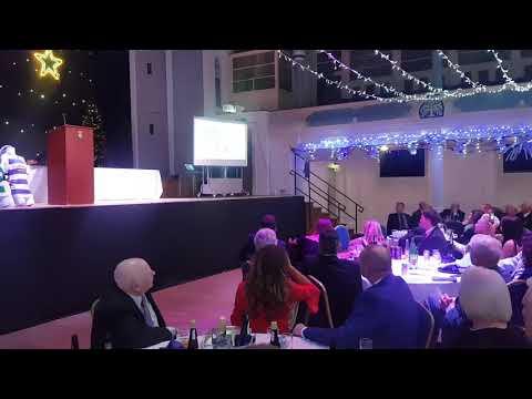 Morton chairman Douglas Rae OBE is inducted into the Greenock Morton Hall of Fame
