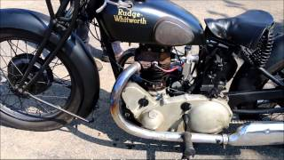 rudge whitworth 500cc 4 valves from 1931 Video