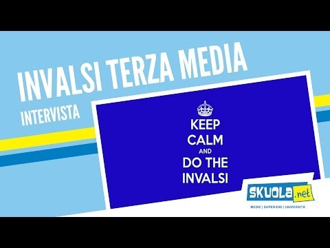 Tutto sul Test Invalsi Terza Media