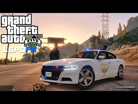 GTA 5 LSPDFR 0.3.1 - EPiSODE 308 - OHIO STATE TROOPER (GTA 5 PC POLICE MODS) HE GOT AWAY