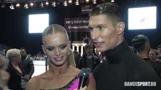 Miha Vodicar & Nadiya Bychkova, SLO, интервью для DanceSport Ru