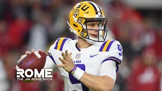 LSU Is On TOP Of The College Football Mountain | The Jim Rome Show