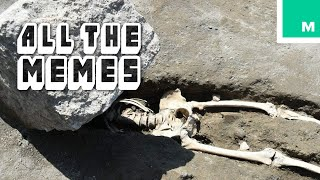 The Unluckiest Man in Pompeii - All The Memes