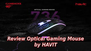 Review Optical Gaming Mouse HV-MS736 by HAVIT