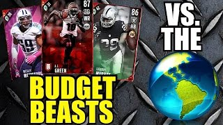 budget beasts vs the world cheap game changing elite players madden 17 ultimate team