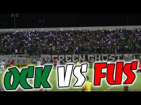 ULTRAS GREEN GHOST - Ambiance Match (OCK Vs FUS)