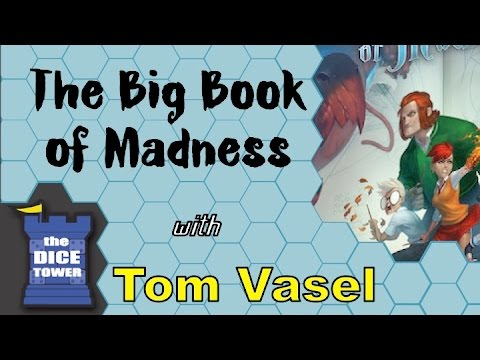 The Big Book of Madness Review – with Tom Vasel