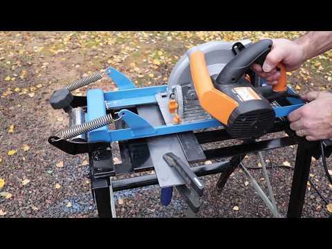 Diy Circular Track- Chop- saw Stand Оснастка для ручной циркулярной пилы