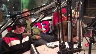 "Blind Fury in ATL on V 103 wit Lil Bankhead & DJ infamous ""Talk 2 Me"" #1"
