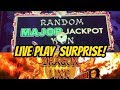 RANDOM MAJOR JACKPOT- PANDA MAGIC DRAGON LINK & BIG WIN TIKI FIRE
