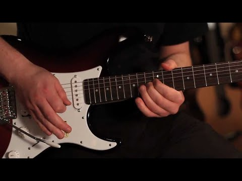 Yamaha Pacifica 112 - The Ultimate Beginners Guitar Demo