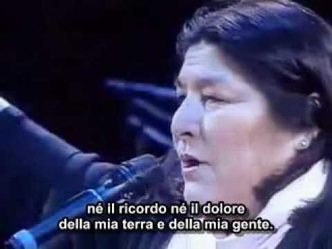 Mercedes Sosa - Todo cambia (Tutto Cambia - Sottotitoli in italiano)