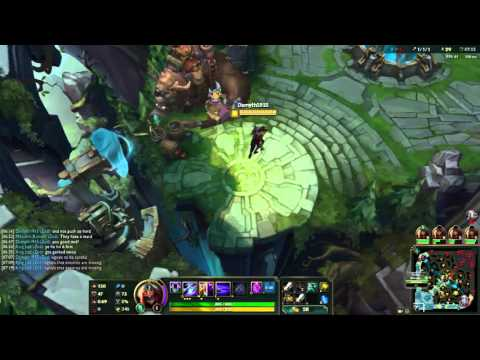 League of legends Gameplay ZED One For All 21-7-9