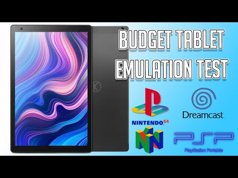Budget Tablet Emulation Test - Vankyo MatrixPad Z10 Android Tablet Review