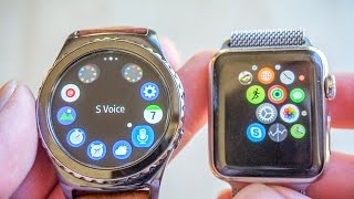 Quick Comparison Overview between Samsung Gear S2 Classic and Apple Watch | Review